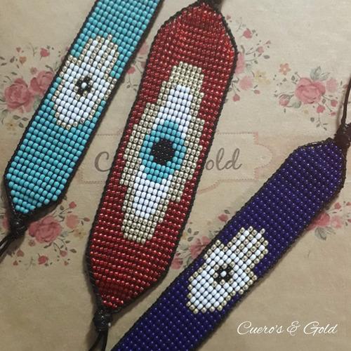 pulseras miyuki somos fabricantes, fotos reales