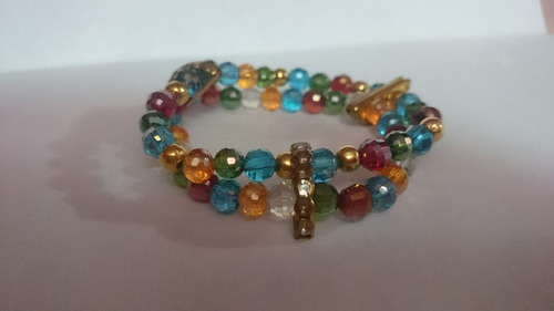 pulseras para dama, cristal alemán, busitería, accesorios