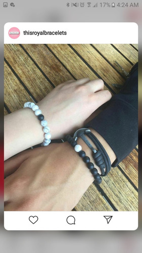 pulseras para parejaestilo clasico