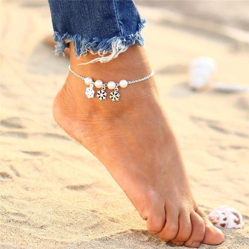 pulseras para tus pies (tobilleras)  diferentes modelos