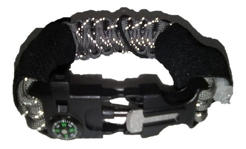 pulseras  paracord para reloj 23cm zl 11-1 linterna
