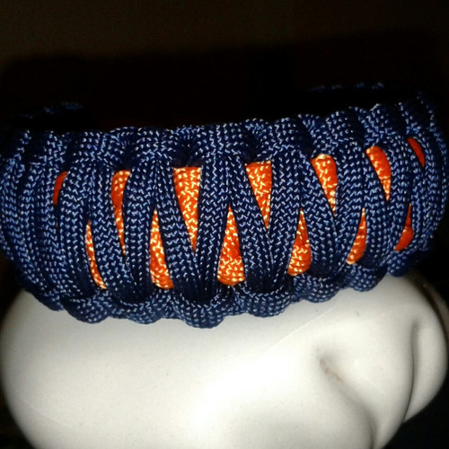 pulseras paracord, supervivencia, modelo king cobra