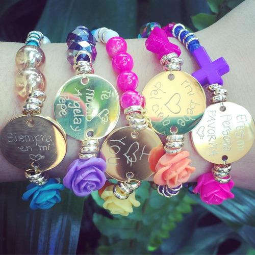 pulseras personalizadas de piedras