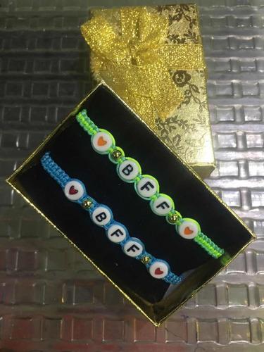 pulseras personalizadas letras  moda