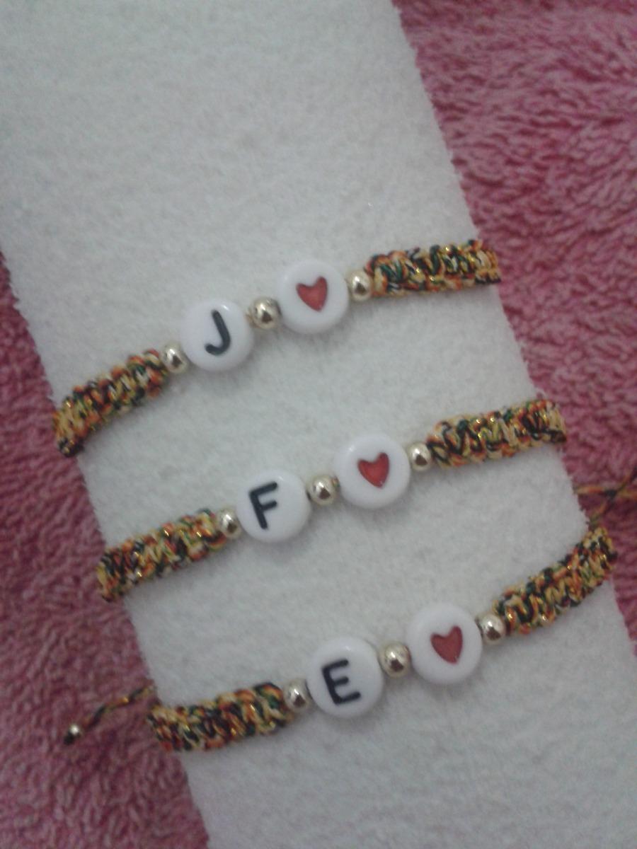 41abc002dabc pulseras personalizadas parejas letras iniciales bae nombres. Cargando zoom.