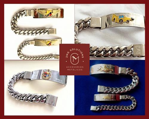 pulseras personalizadas y militares