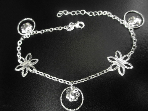 pulseras plata diamantada italiana a solo s/.60.00 ns.