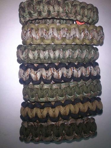 pulseras supervivencia paracord. armystore puebla