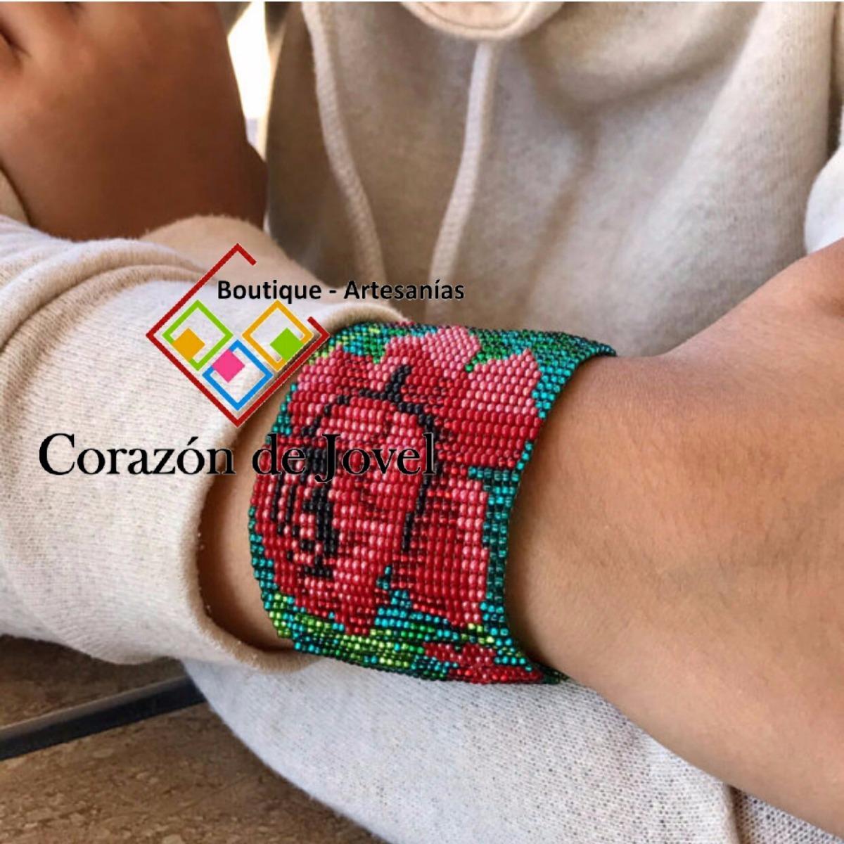 8d752ef4670b Pulseras Tejidas En Chaquira artesanales De Chiapas!! -   385.00 en ...