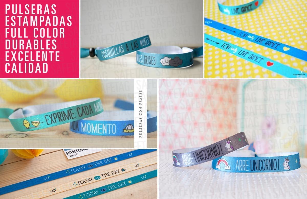 392ad6165dcb pulseras tela personalizadas 15 años eventos promoción x 40. Cargando zoom.