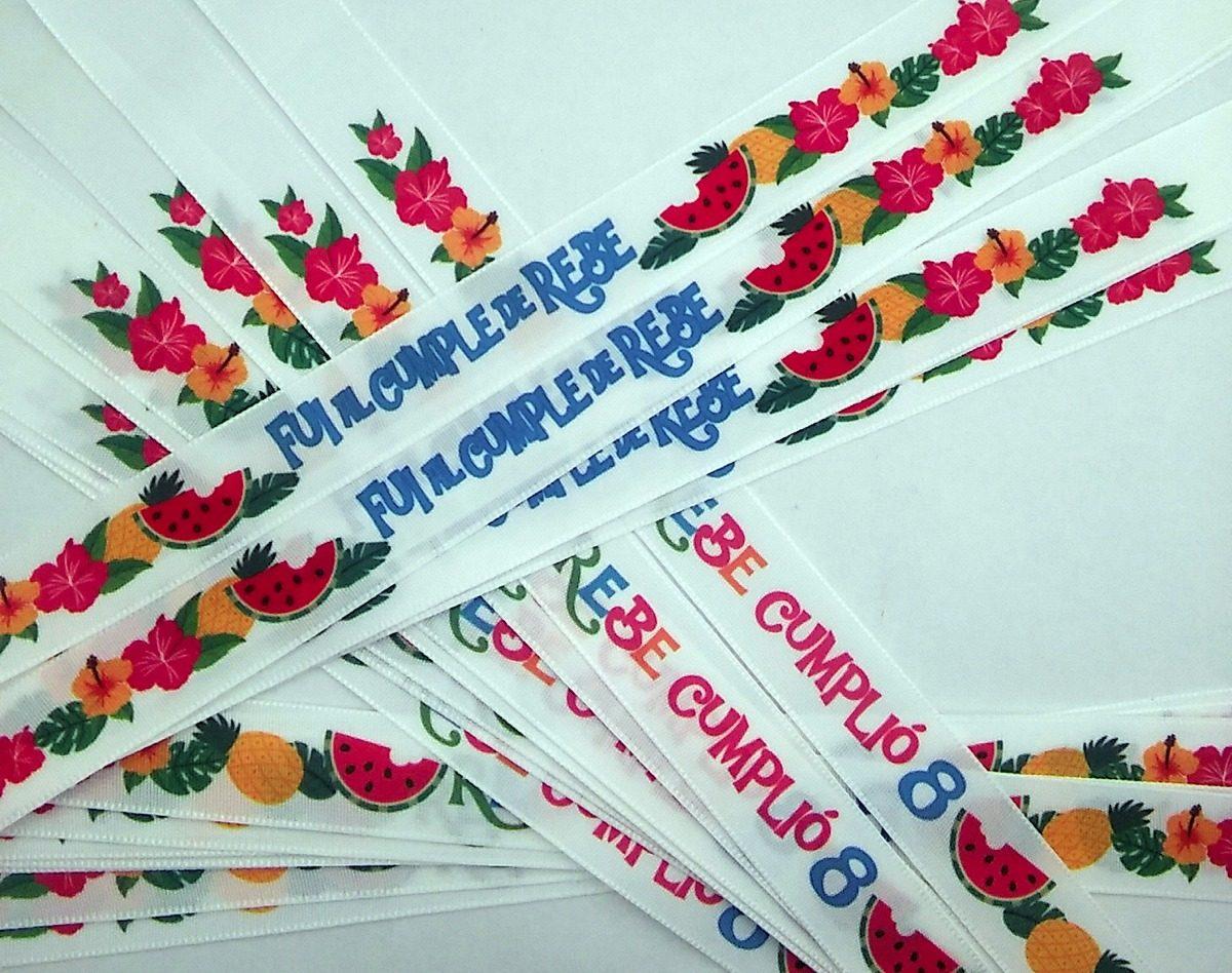 fd9c4f279f0d pulseras tela personalizadas cumpleaños evento 30. Cargando zoom.