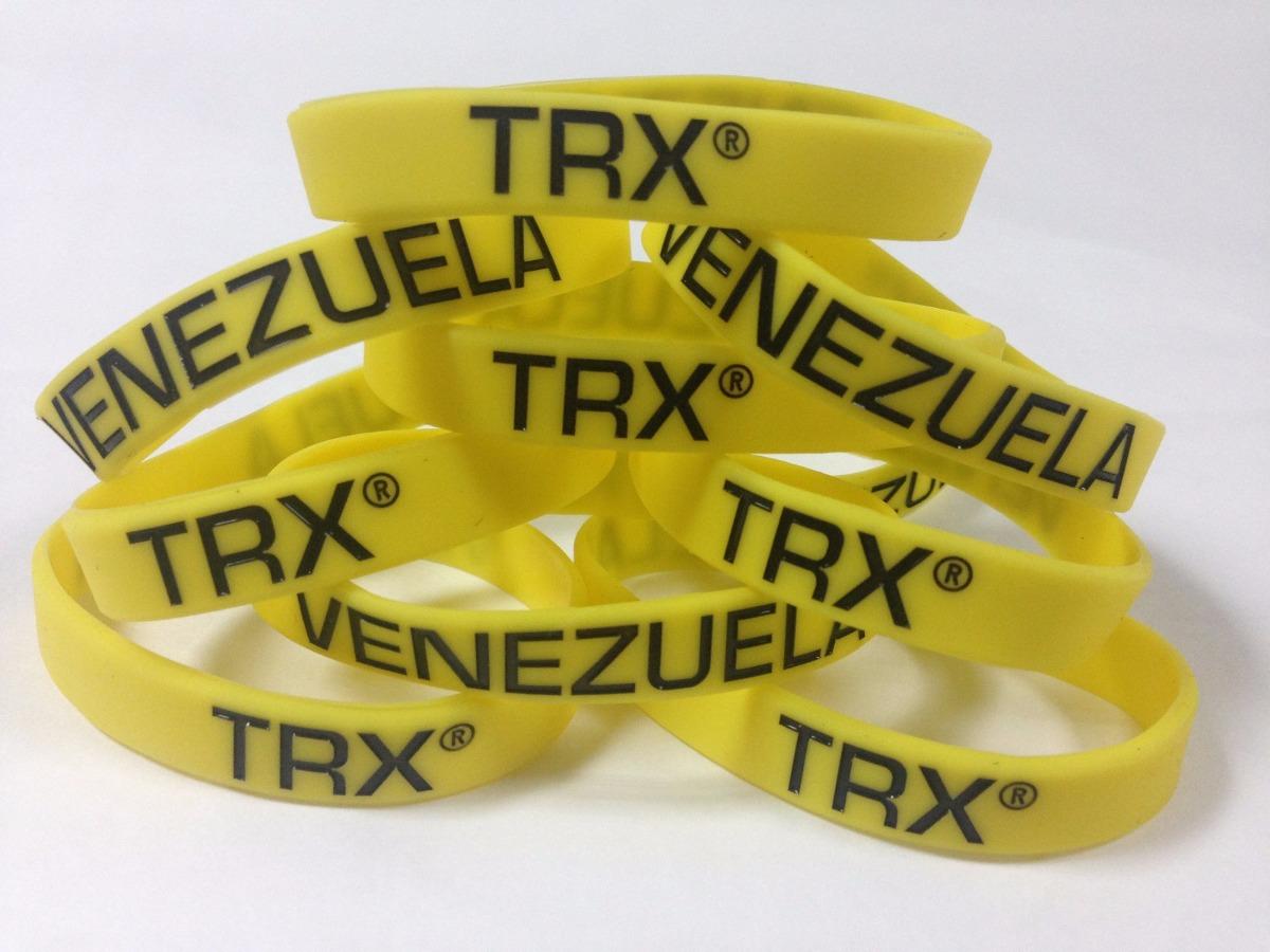a334e92b3865 Pulseras Trx Venezuela De 100% Silicon (no Goma)