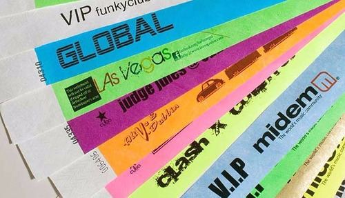 pulseras tyvek premium - made in canada - vip - eventos - 15