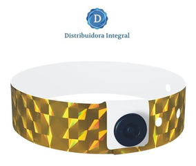 9b249db7902c Pulseras Vinilo Glitter Para Eventos. Sin Impresión X 100 U