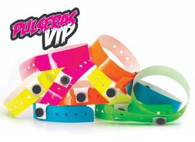 eefaa4d8514a Pulseras Vip Plasticas - Pack X 250 - Impresas