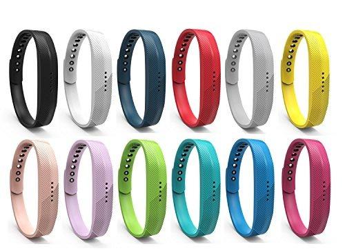 pulserasbenestellar 12 colores fitbit flex 2 band, correa..