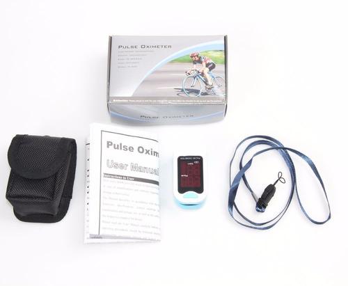 pulsímetro monitor ritmo corazón spo2 pulso dedo sangre o2