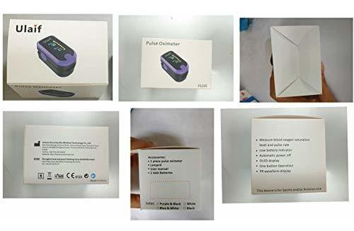 pulsioxímetro de dedo, monitor portátil de saturación de oxí