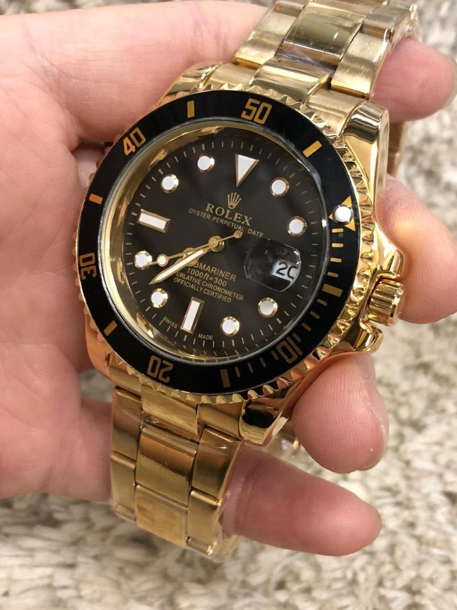 15b0f5cdba9 Relógio De Pulso Masculino Rolex Submariner -importado - R  250