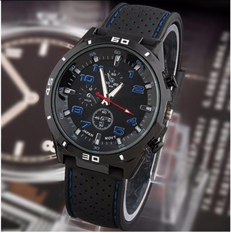 21f650b07c2 pulso masculino relógio · relógio pulso masculino homem gt touring azul  frete grátis
