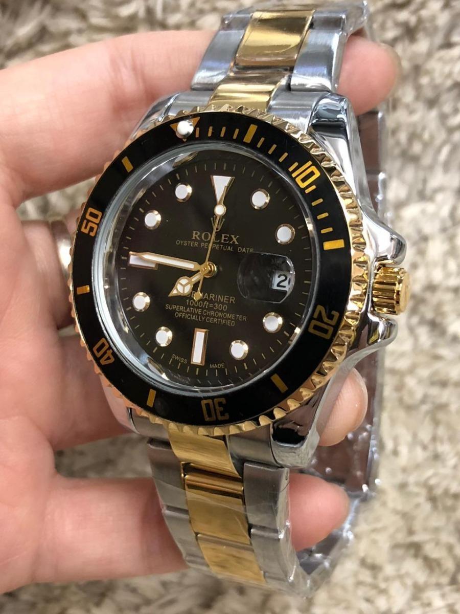 c2fec0ecf7f Carregando zoom... relógio de pulso masculino rolex submariner -importado