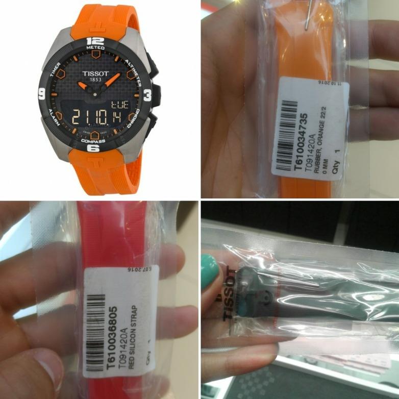 b9586c109fa7 Pulso Para Reloj Tissot Touch Solar Original 3 Colores Hay -   295.000 en  Mercado Libre