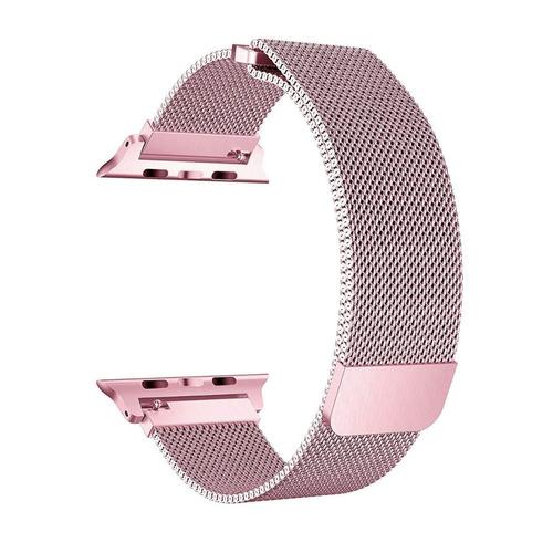 pulso reloj apple watch iwatch 42 mm serie 1 2 3 rosado