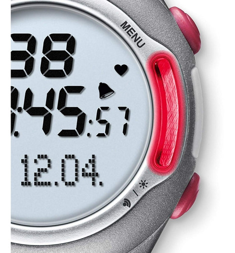 pulsómetro digital beurer pm70 con medidor de ritmo cardíaco