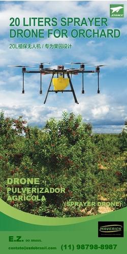 pulverização drone fogg pulverizador joyance maverick dji