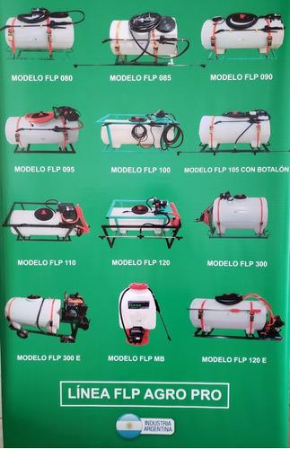 pulverizador 12 v tanque 120 lts fumigador c/botalón 4 picos