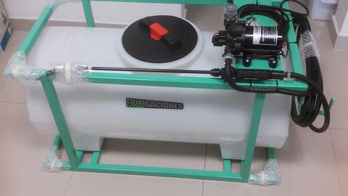 pulverizador 12 volts tanque 120lts fumigador