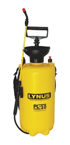 pulverizador agrícola manual 10 litros pl-10 lynus