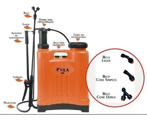 pulverizador bomba veneno 20l + pulverizador manual 550ml