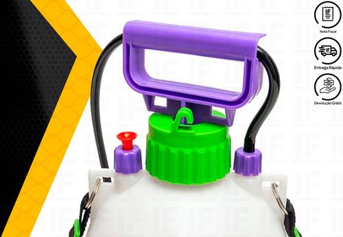 pulverizador borrifador manual costal 5l palisad 647408
