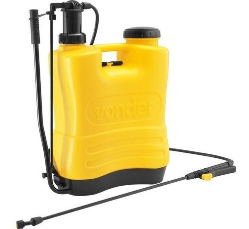 pulverizador costal agrícola 20 litros com 4 bicos vonder