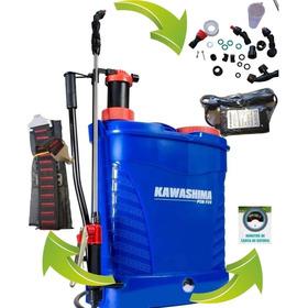 Pulverizador Costal Bateria E Manual Kawashima 20l Pemp20