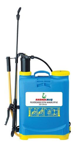 pulverizador costal manual de compressão prévia 20 litros