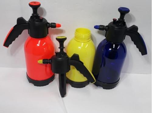 pulverizador de compressão cor laranja idea manual 2 litro.