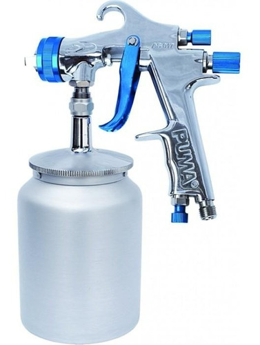 pulverizador de pintura sucção hvlp 1.8mm as017cg 18 puma