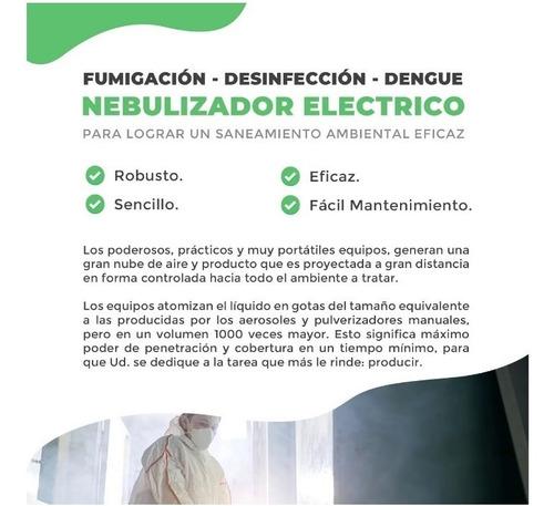 pulverizador electrico (fumigacion - desinfeccion - dengue)