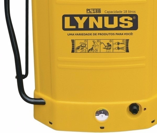 pulverizador elétrico 18 litros lynus