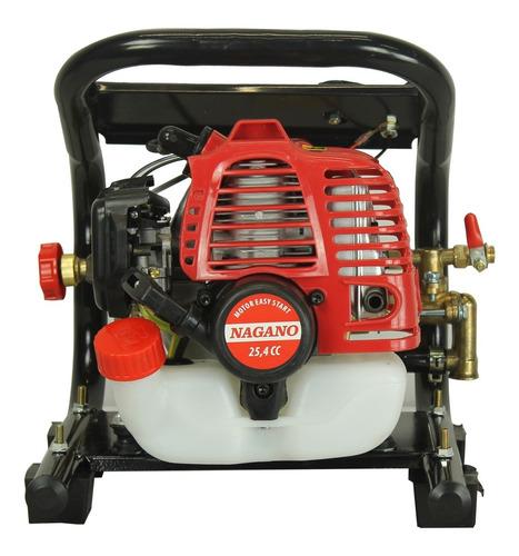 pulverizador estacionário agrícola gasolina 25,4cc 2 t 10m