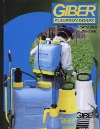 pulverizador fumigador giber de 9 lts