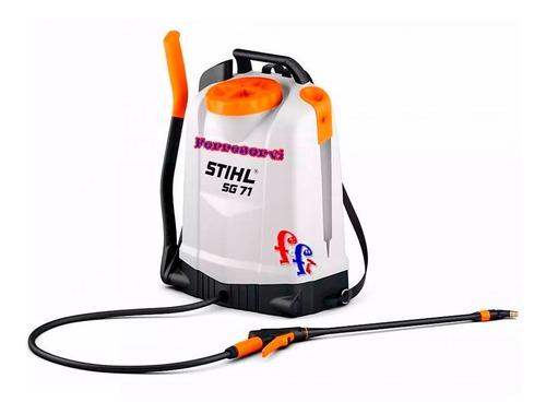 pulverizador fumigador manual de mochila stihl 18 lts sg 71