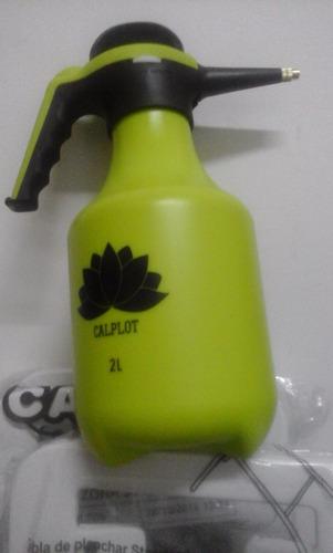 pulverizador fumigador rociador a presión 2 l pico bronce