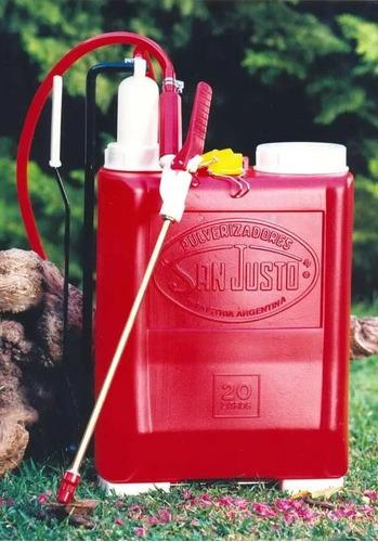 pulverizador fumigador san justo x 20 litros