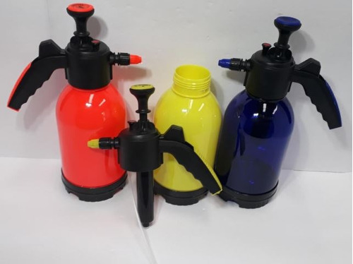pulverizador jardim idea burrifador azul manual 2 litros .