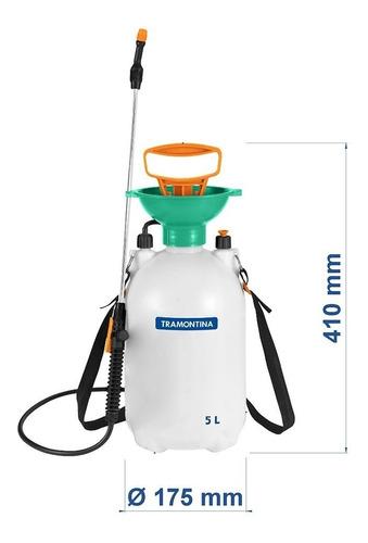 pulverizador lateral compressão prévia tramontina - 5 litros