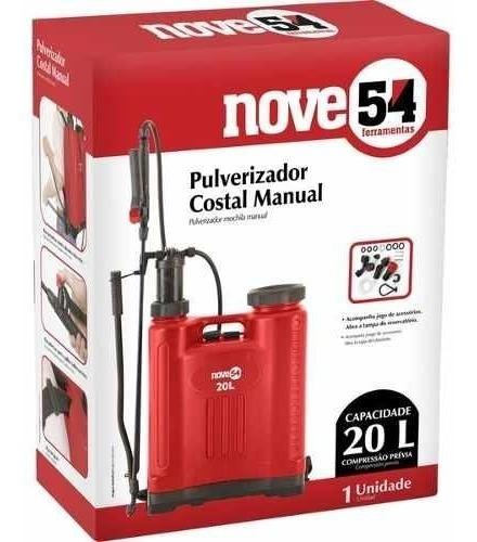 pulverizador manual  20lts costal 954  frete gratis
