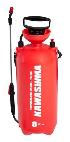 pulverizador manual 8 litros 0.5 l/min pm 08 kawashima